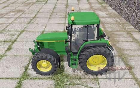 John Deere 6610 Standard Pipe design для Farming Simulator 2017