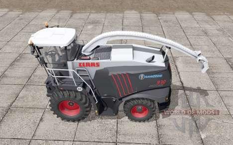 Claas Jaguar 930 Gavazzoni Black для Farming Simulator 2017