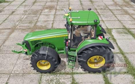 John Deere 8420 interactive control для Farming Simulator 2017
