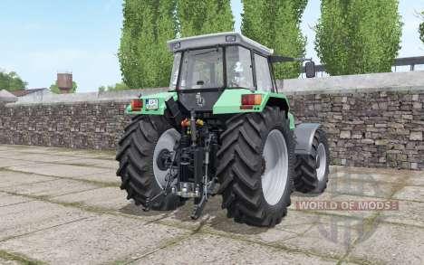 Deutz-Fahr AgroStar 6.71 narrow twin wheels для Farming Simulator 2017