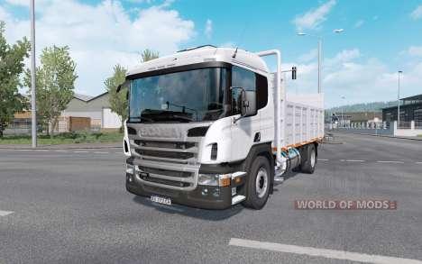 Scania P310 with trailer для Euro Truck Simulator 2
