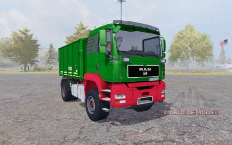 MAN TGA tipper Agroliner v4.0 для Farming Simulator 2013