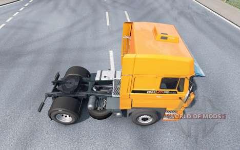 DAF 2800 Space Cab v1.1 для Euro Truck Simulator 2