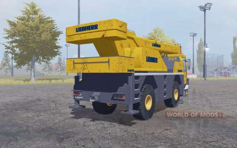 Liebherr LTM 1030 4x4 для Farming Simulator 2013