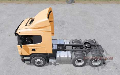 Scania R440 tractor normal cab для Farming Simulator 2017