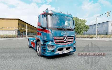 Mercedes-Benz Antos 1840 2012 Kings Customs для Euro Truck Simulator 2