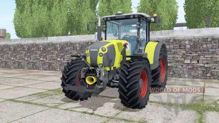 Claas Arion 650 loader montieren для Farming Simulator 2017
