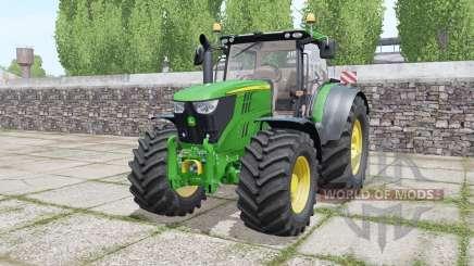 John Deere 6215R moving elements для Farming Simulator 2017