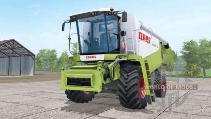 Claas Lexion 580 green and white для Farming Simulator 2017