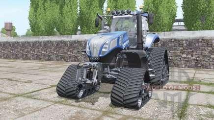 New Holland T8.320 crawler для Farming Simulator 2017