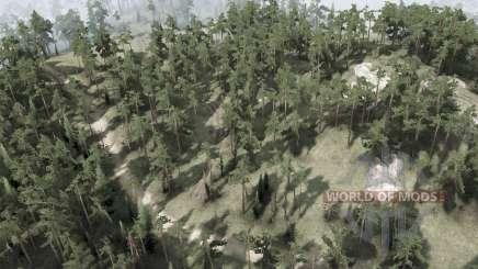 Backwoods для MudRunner
