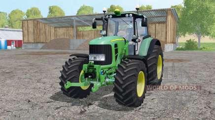 John Deere 7530 Premium front loader для Farming Simulator 2015