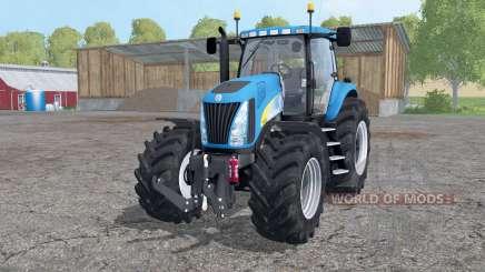 New Holland TG 285 wheels weights для Farming Simulator 2015