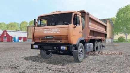 КамАЗ 45143 2006 с прицепом для Farming Simulator 2015