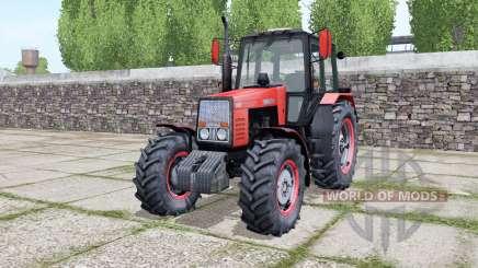 МТЗ 1221 Беларус с анимацией частей для Farming Simulator 2017
