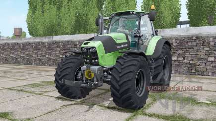 Deutz-Fahr Agrotron 7210 TTV Goodyear tyres для Farming Simulator 2017