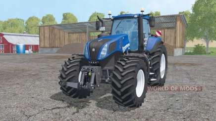 New Holland T8.420 animation parts для Farming Simulator 2015
