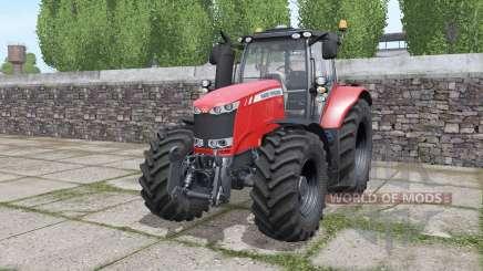 Massey Ferguson 7720 interactive control для Farming Simulator 2017
