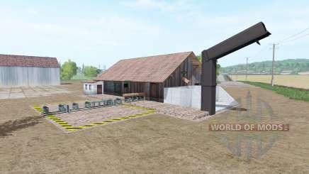 Лесопилка v2.0 для Farming Simulator 2017