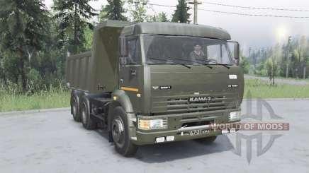 КамАЗ 6520 для Spin Tires