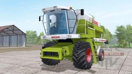 Claas Dominator 208 Mega wheels selection для Farming Simulator 2017