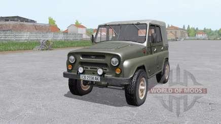 УАЗ 469 1973 для Farming Simulator 2017