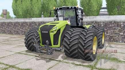 Claas Xerion 4500 Trac VC wheels selection для Farming Simulator 2017
