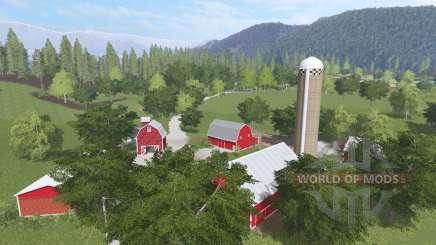 Genesee Acres v1.1 для Farming Simulator 2017