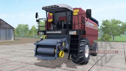 Палессе GS12 ненасыщенно-тёмно-красный для Farming Simulator 2017