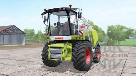 Claas Jaguar 970 interactive control для Farming Simulator 2017