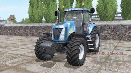 New Holland TG255 front weight для Farming Simulator 2017