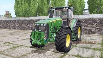 John Deere 8330 double wheels для Farming Simulator 2017