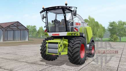 Claas Jaguar 960 green and white для Farming Simulator 2017