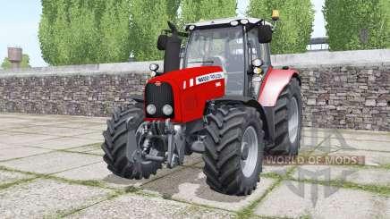 Massey Ferguson 5465 moving elements для Farming Simulator 2017