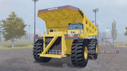 Caterpillar 797 для Farming Simulator 2013