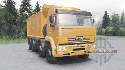 КамАЗ 65201 8x4 2011 для Spin Tires