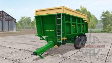 ZDT Mega 13 dark lime green для Farming Simulator 2017