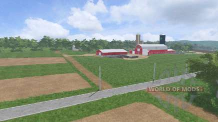 Пенсильвания v1.4 для Farming Simulator 2017