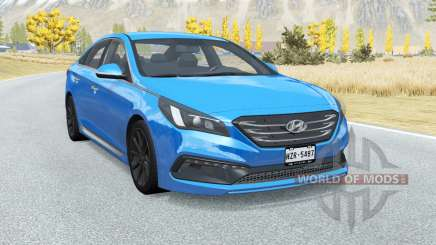 Hyundai Sonata Sport (LF) 2015 для BeamNG Drive