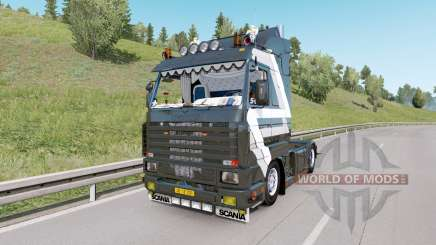 Scania 143M V8 420 custom для Euro Truck Simulator 2