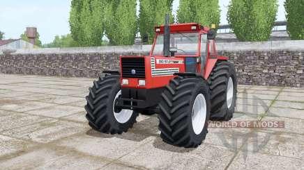 Fiat 180-90 Turbo wide tyre Michelin для Farming Simulator 2017
