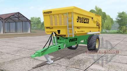 Joskin Trans-Cap 5000-14 yellow для Farming Simulator 2017