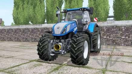 New Holland T7.315 wheels selection для Farming Simulator 2017