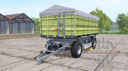 Fliegl DK 180-88 desaturated yellow для Farming Simulator 2017