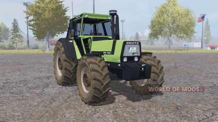 Deutz-Fahr DX 140 double wheels для Farming Simulator 2013