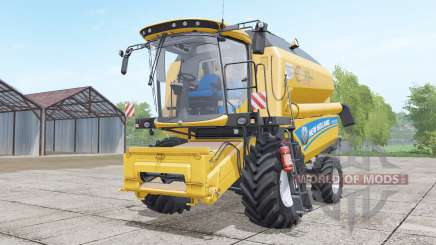 New Holland TC5.70 design selection для Farming Simulator 2017