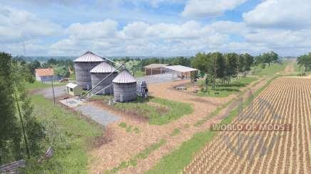 AgroWest v1.1 для Farming Simulator 2017