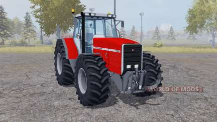Massey Ferguson 8140 double wheels для Farming Simulator 2013