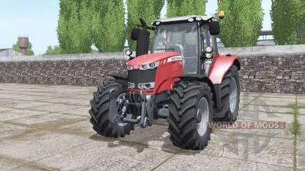 Massey Ferguson 6615 moving elements для Farming Simulator 2017