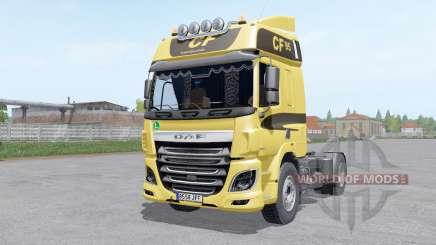 DAF CF Space Cab для Farming Simulator 2017